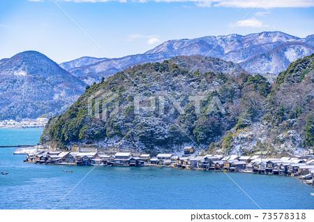 교토 이네 만 풍경 (겨울) 73578318