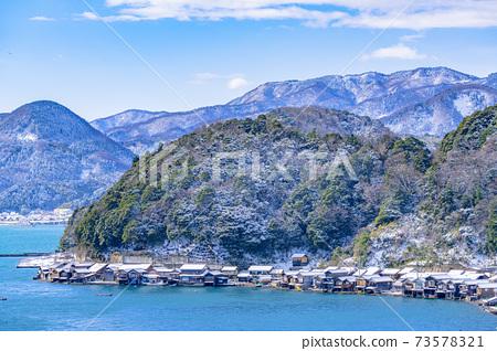 교토 이네 만 풍경 (겨울) 73578321