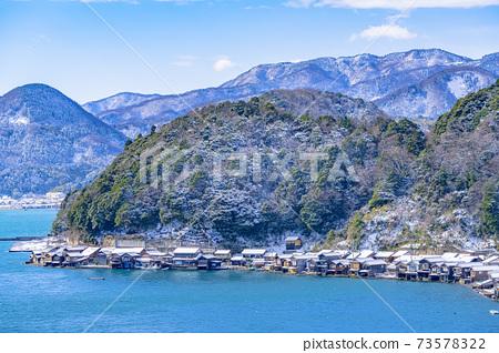 교토 이네 만 풍경 (겨울) 73578322