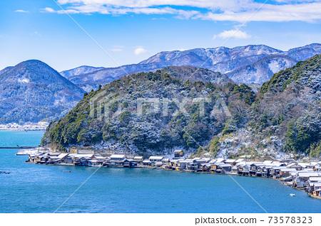 교토 이네 만 풍경 (겨울) 73578323