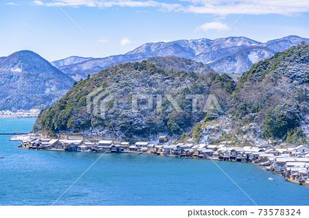 교토 이네 만 풍경 (겨울) 73578324