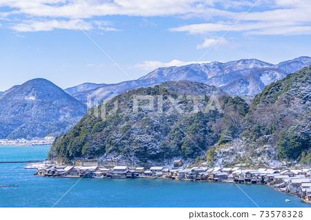 교토 이네 만 풍경 (겨울) 73578328