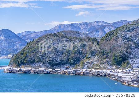 교토 이네 만 풍경 (겨울) 73578329