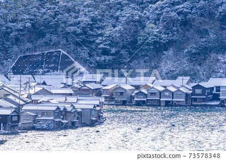 교토 이네 만 풍경 (겨울) 73578348