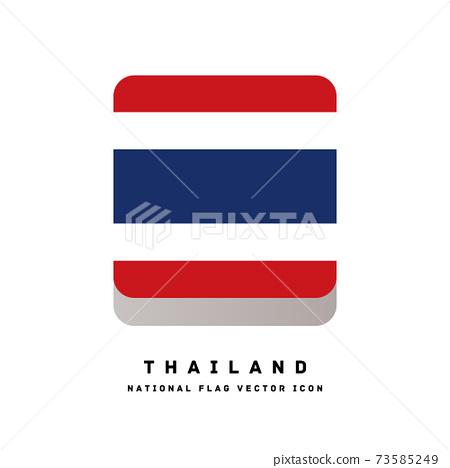 方形圖標樣式的標誌[泰國] 73585249