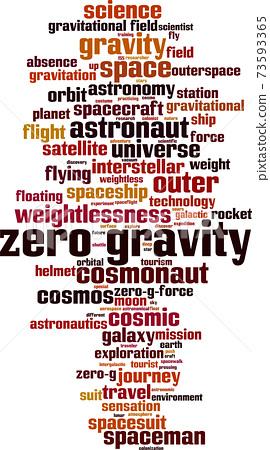 Zero gravity word cloud 73593365