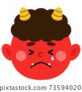 紅惡魔,哭泣的臉 73594020