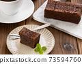 手工巧克力布朗尼布朗尼 73594760
