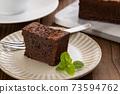 手工巧克力布朗尼布朗尼 73594762
