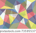 abstract geometric background. low poly style wallpaper. triangle shape decoration. blank for text. 73595537