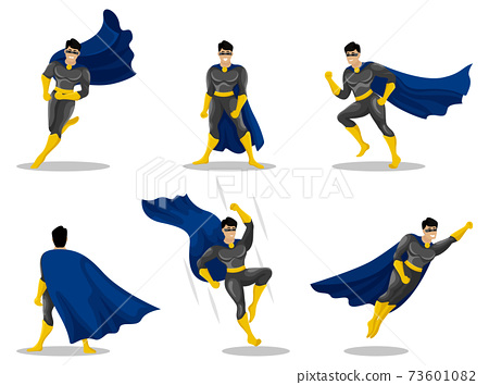 Hero. Superhero character 73601082