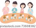 與4位家庭成員一起用餐 73608382