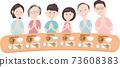 和6位家人一起用餐 73608383