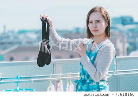 洗衣襪子的味道 73618166