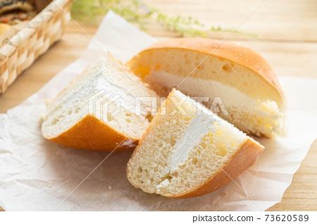 長野縣的當地美食牛奶麵包 73620589