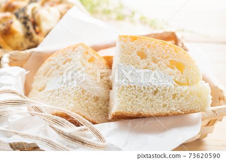長野縣的當地美食牛奶麵包 73620590