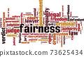 Fairness word cloud 73625434