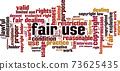 Fair use word cloud 73625435