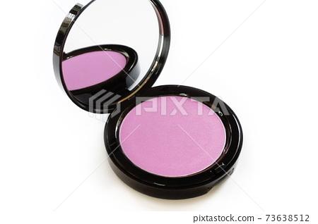 Cheek blush close-up of blusher 73638512