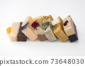 Bars of beautiful natural handmade soap. 73648030