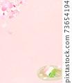 樱花背景素材-有多种变体 73654194