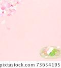 樱花背景素材-有多种变体 73654195