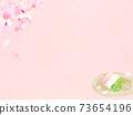 樱花背景素材-有多种变体 73654196