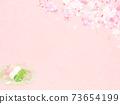 樱花背景素材-有多种变体 73654199