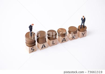 企業形象SALARY 73661319