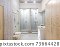 interior of the shower room 73664428