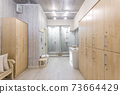 interior of the shower room 73664429