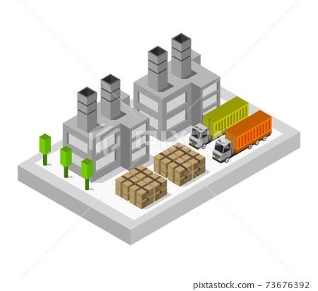 isometric industry 73676392