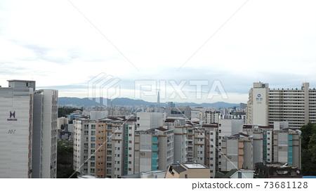 도시 풍경 73681128