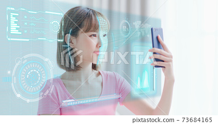Facial recognition technology 73684165