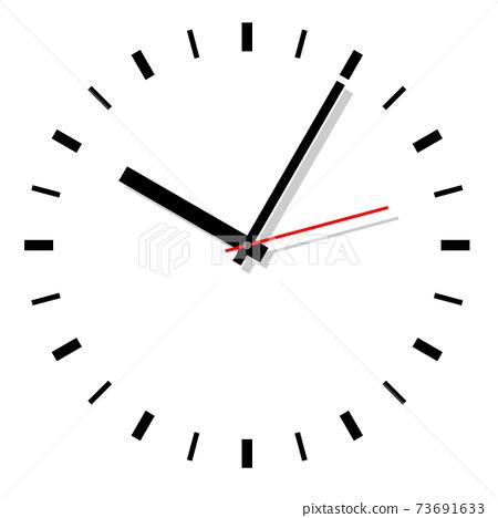 시계 아이콘 일러스트 73691633