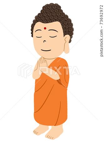 佛陀的插圖 73692972