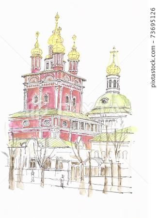 世界遺產城市景觀,俄羅斯,謝爾蓋耶夫 73695126