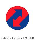up down arrows icon 73705386