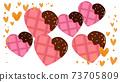 心巧克力設計插圖 73705809