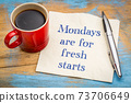 Mondays are for fresh starts 73706649