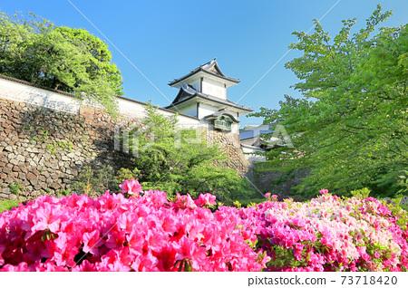 Fresh green Kanazawa Castle Park 73718420
