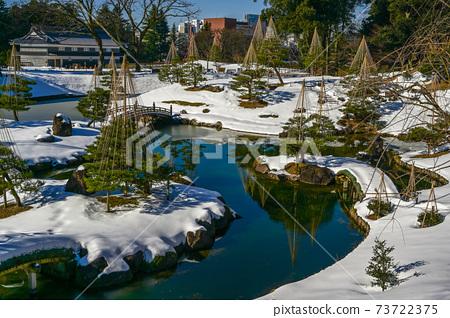 金澤城堡有仙之丸花園與雪景 73722375