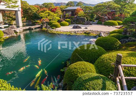절경 일본 지보 일본 제일의 일본 정원 돗토리 현 야스 기시 73723557