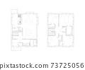 建築設計圖佈局圖平面圖住宅二層遠程辦公空間 73725056
