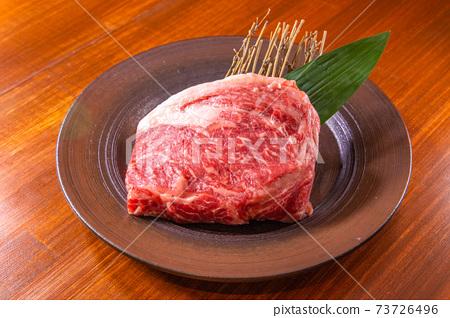 Steak meat 73726496