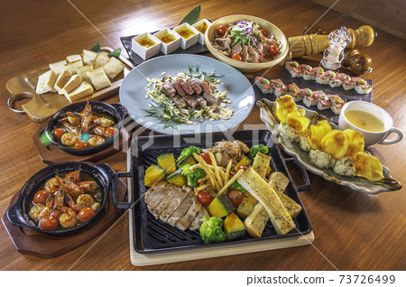 Meat dishes 73726499
