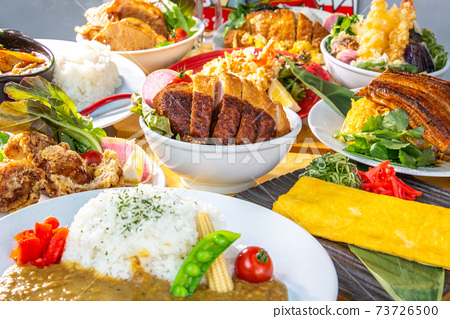 Various dishes 73726500