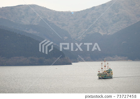 箱根海賊船 蘆之湖 箱根 日本 73727458