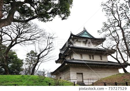 富士見櫓 皇居東御苑 江戶城 皇居 東京 日本 73727529