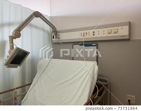 Hospital room, hospital bed, sick hospital 73731864